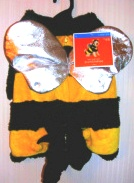 Dog Pet Bumblebee Bee Costume Outfit Large